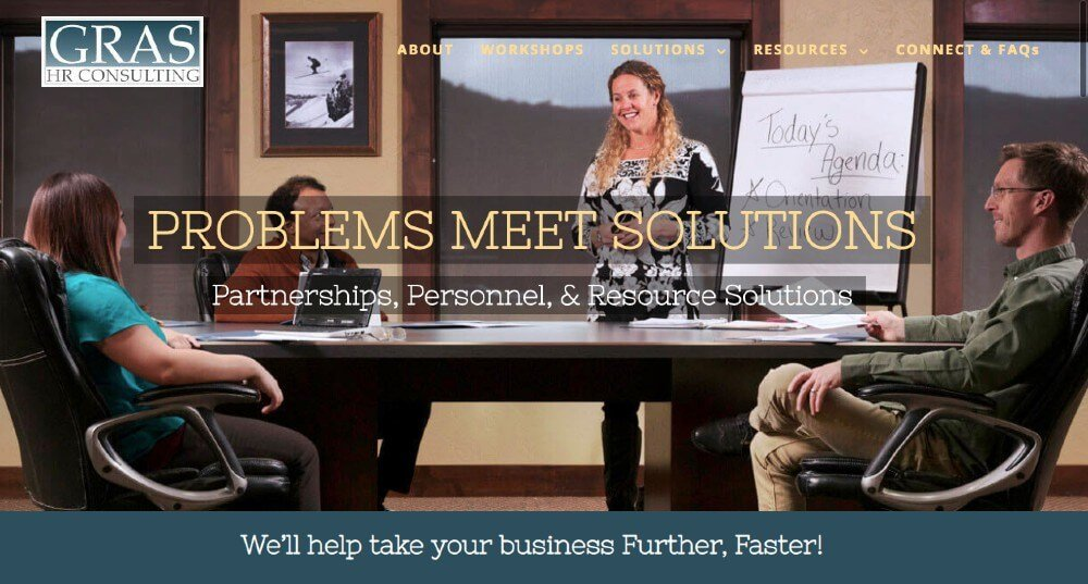 Gras HR Consulting | Great Looking Websites