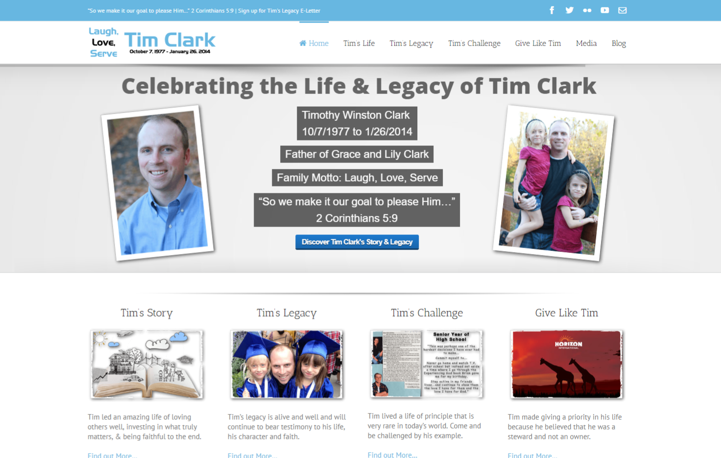 Celebrating Tim Clark | Great Looking Websites